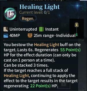 SOLO Summoner - Healing Light - Origin