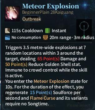 SOLO Summoner - Meteor Explosion