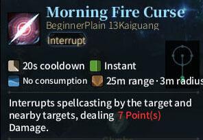 SOLO Summoner - Morning Fire Curse