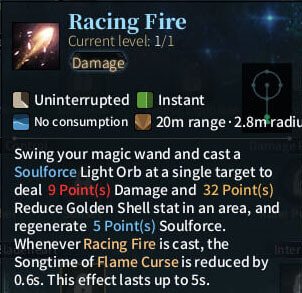 SOLO Summoner - Racing Fire