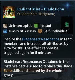 SOLO Summoner - Radiant Mist - Blade Echo