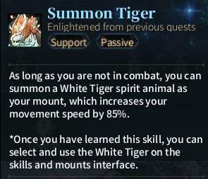 SOLO Summoner - Summoning Tiger