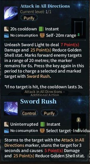 SOLO Sword - Attack in All Directions