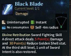 SOLO Sword - Black Blade