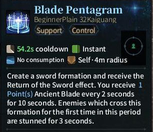 SOLO Sword - Blade Pentagram