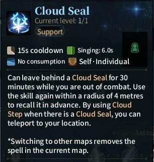 SOLO Sword - Cloud Seal