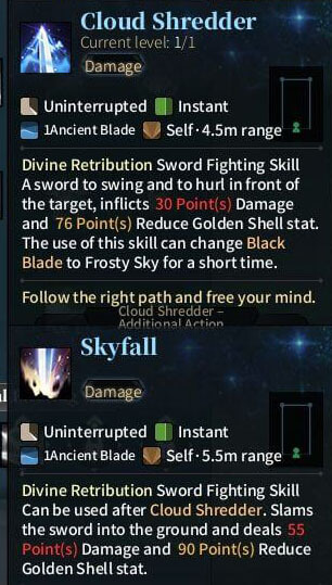 SOLO Sword - Cloud Shredder