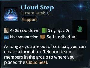 SOLO Sword - Cloud Step