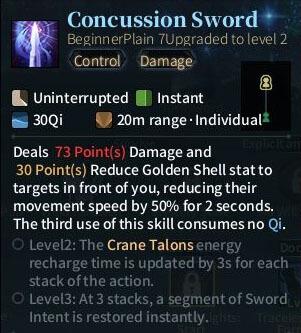 SOLO Sword - Concussion Sword