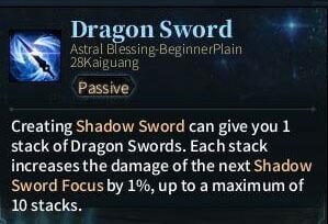 SOLO Sword - Dragon Sword