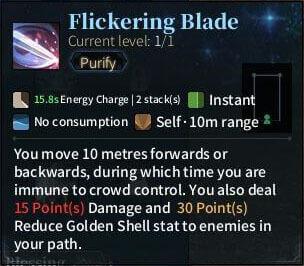 SOLO Sword - Flickering Blade