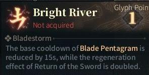 SOLO Sword Glyphs - Bright River