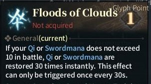 SOLO Sword Glyphs - Floods of Clouds