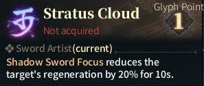 SOLO Sword Glyphs - Stratus Cloud