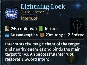 SOLO Sword - Lightning Lock