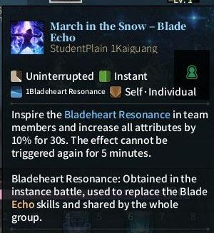 SOLO Sword - March in the Snow Blade Echo