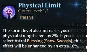 SOLO Sword - Physical Limit