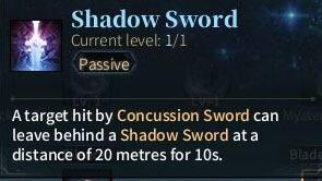 SOLO Sword - Shadow Sword