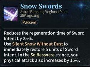 SOLO Sword - Snow Swords