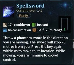 SOLO Sword - Spellsword