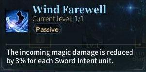 SOLO Sword - Wind Farewell