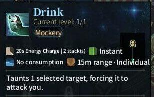 SOLO Zerker - Drink