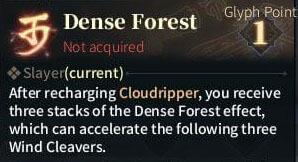 SOLO Zerker Gylph - Dense Forest