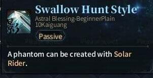 SOLO Zerker - Swallow Hunt Style