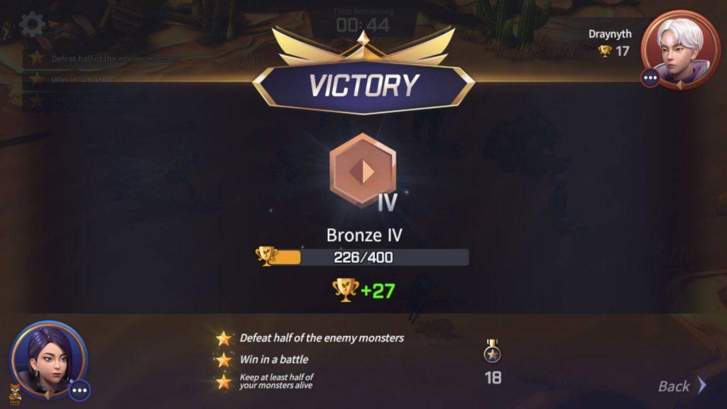 SW - Lost Centuria - PVP Victory UI
