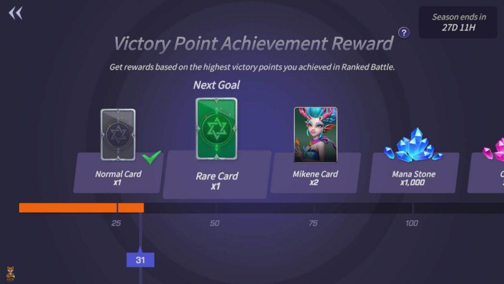 SW - Lost Centuria - Season Achivement Rewards