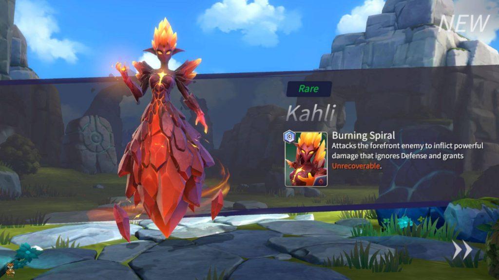 SW - Lost Centuria - Summon Rare Kahli